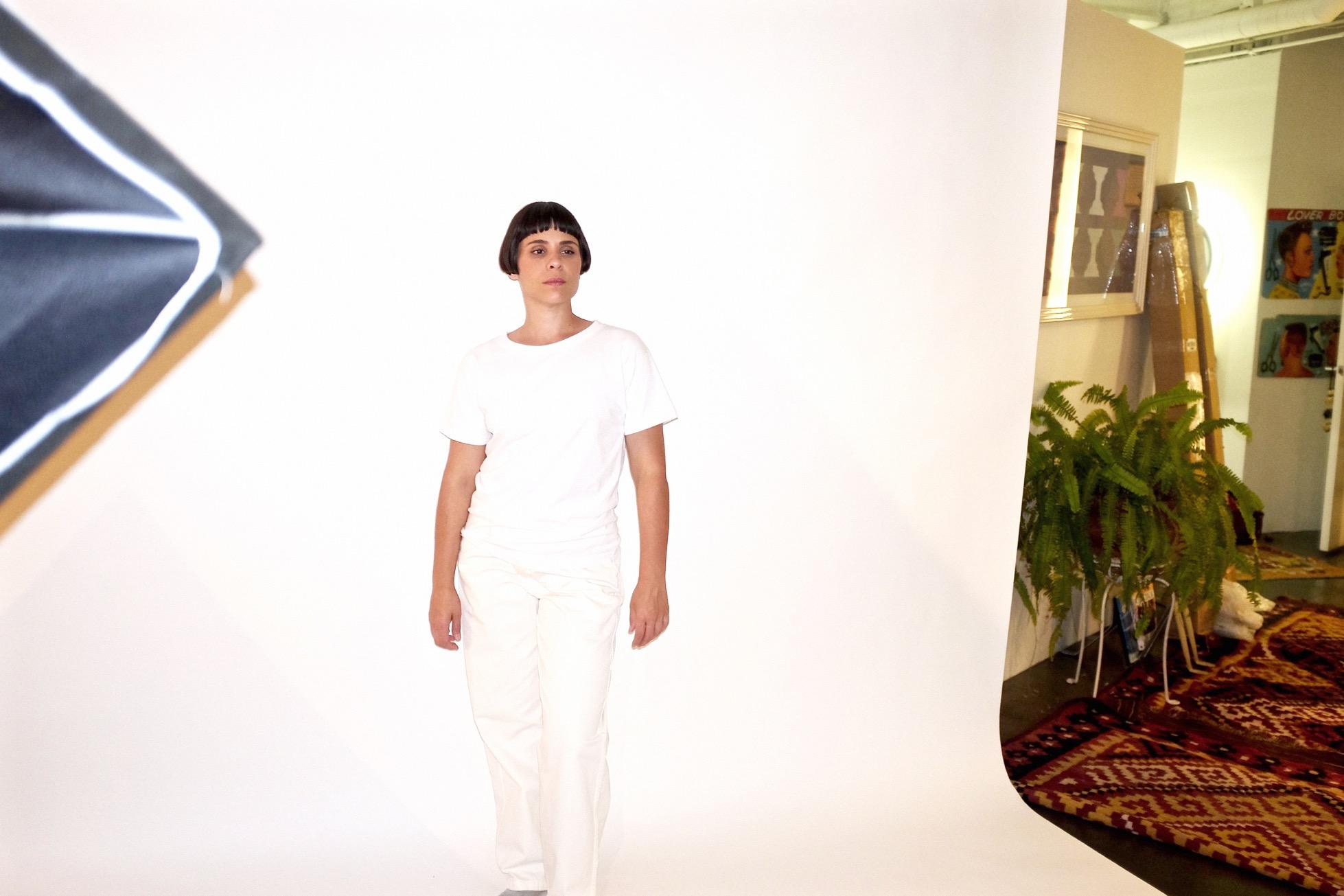 irene, boxy, t-shirt