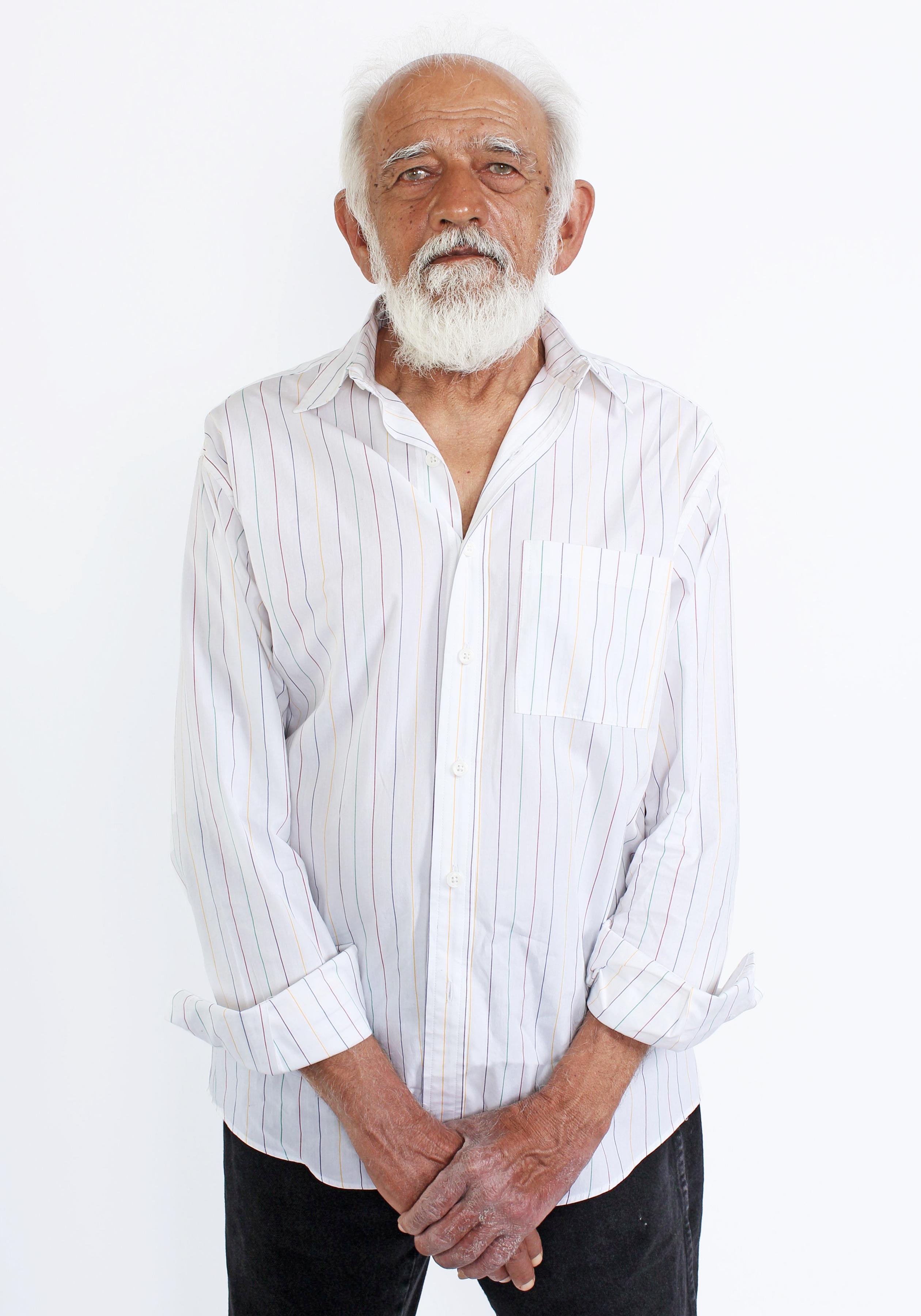 Prakash in Rainbow Stripe Button Down