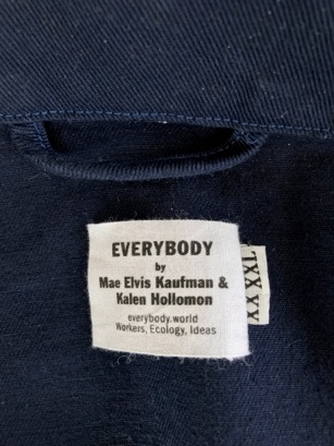 EVERYBODY.WORLD by Mae & Kalen now in XXXXL