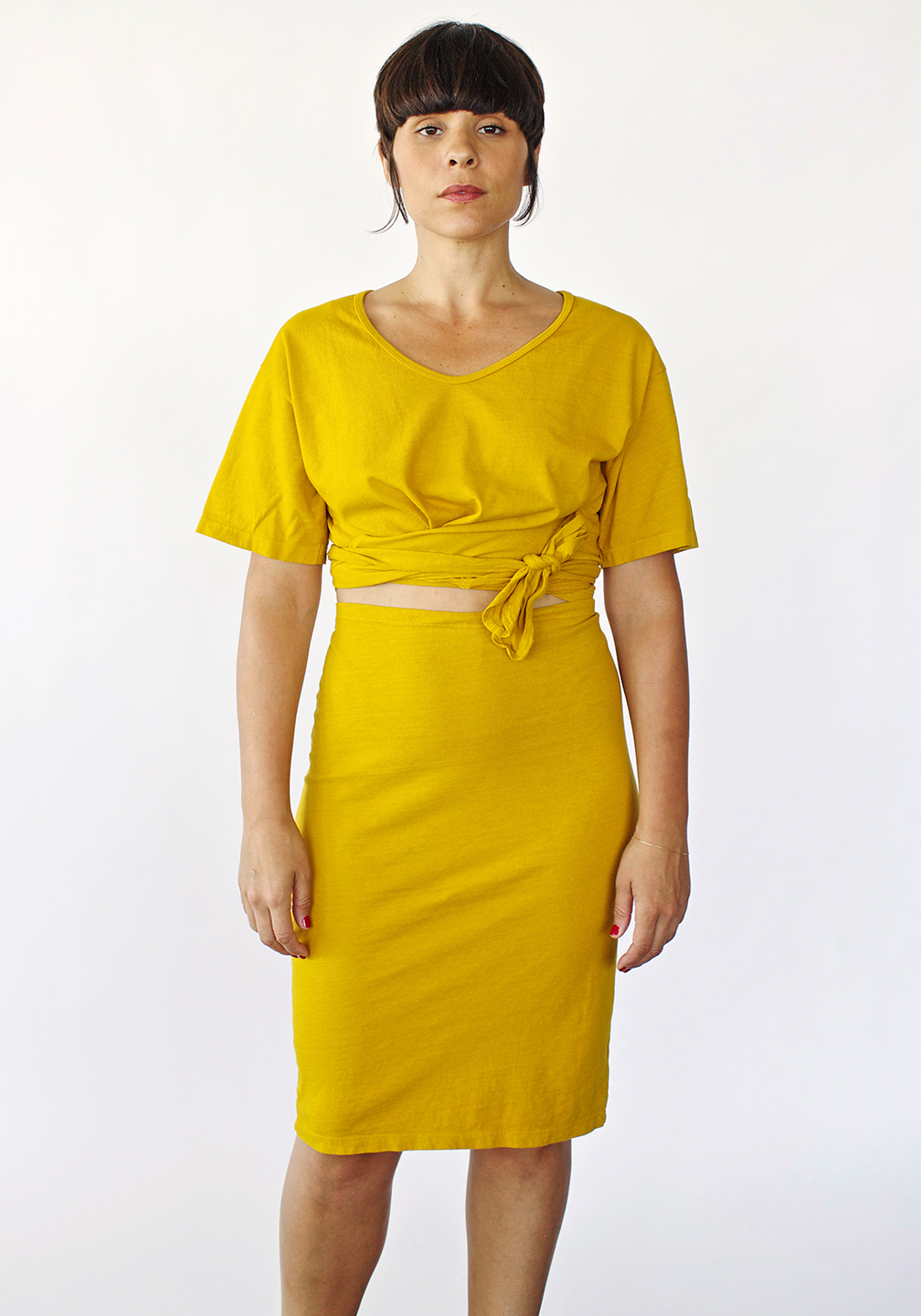 Delores' Twist and Tie Skirt