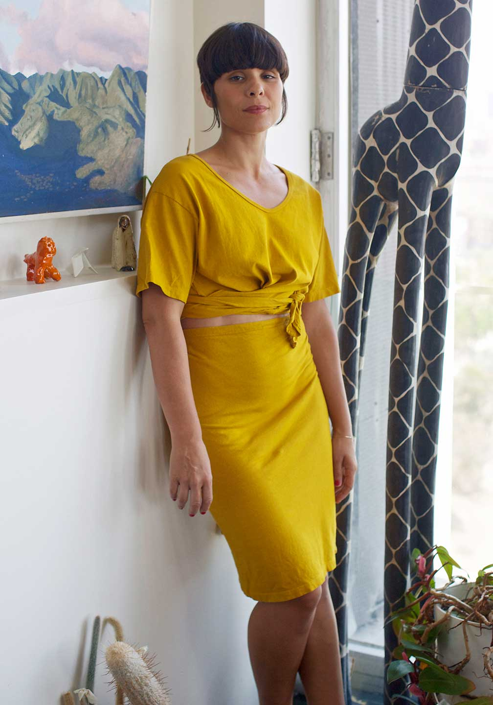 Rotating_Delores_DriedTurmeric_Skirt_004