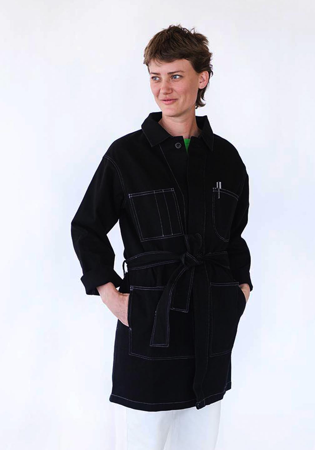 Mae_And_Kalen's_Charity_Coat_Black_Rotating