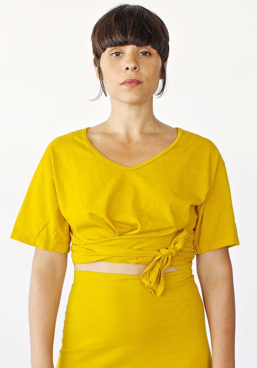 Delores' Twist and Tie Top