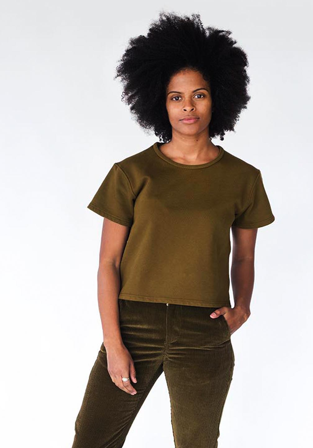 Grandfather_French_Terry_Tee_Shirt_Olive
