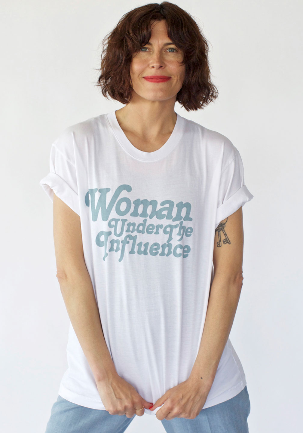 Woman Under the Influence Trash Tee