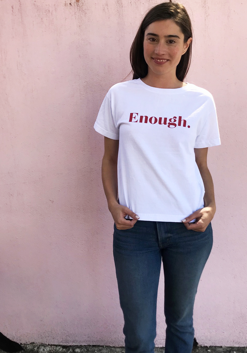 ENOUGH Trash Tee