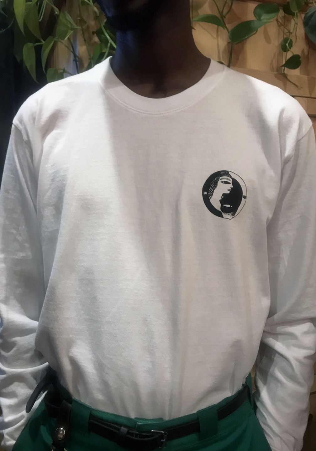 Essence and Jihaari Long Sleeve Trash Tee