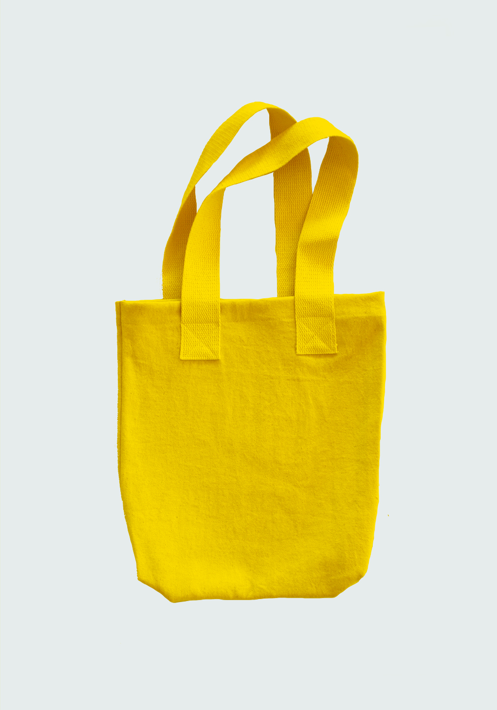 Tote Flat Lay Yellow
