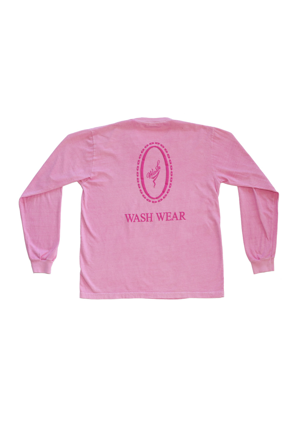 Wash Wear Long Sleeve Pink