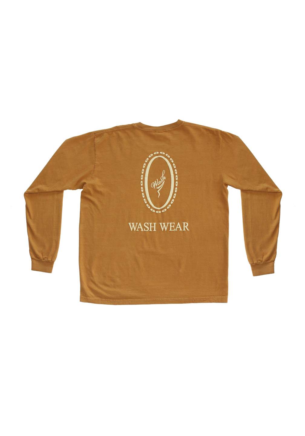 Wash Wear Long Sleeve Peanut Butter