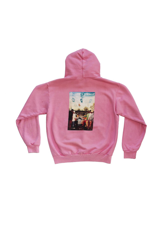 Wash Wear Hoodie Pink