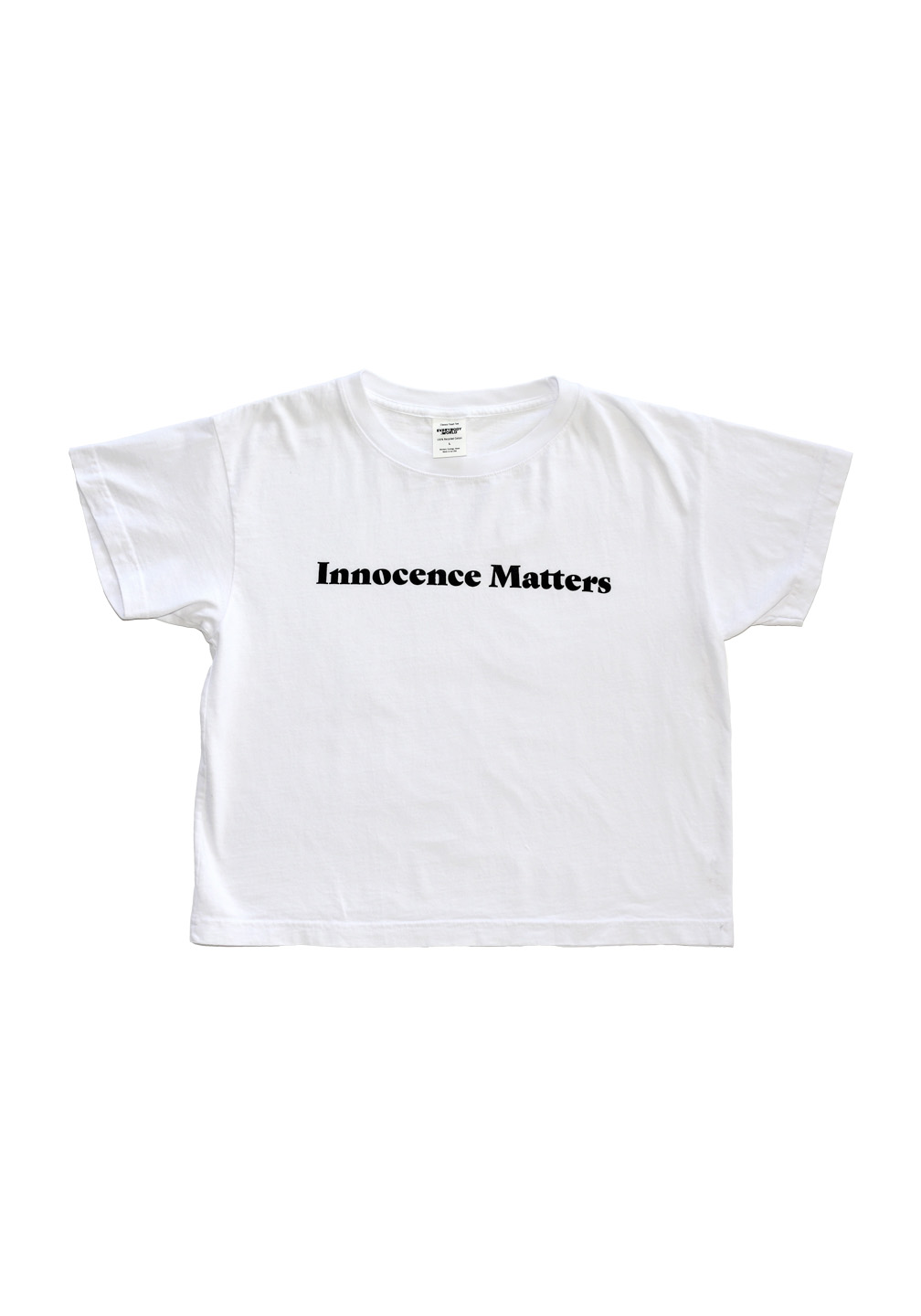 Wash Wear Innocence Matters Boxy Tee