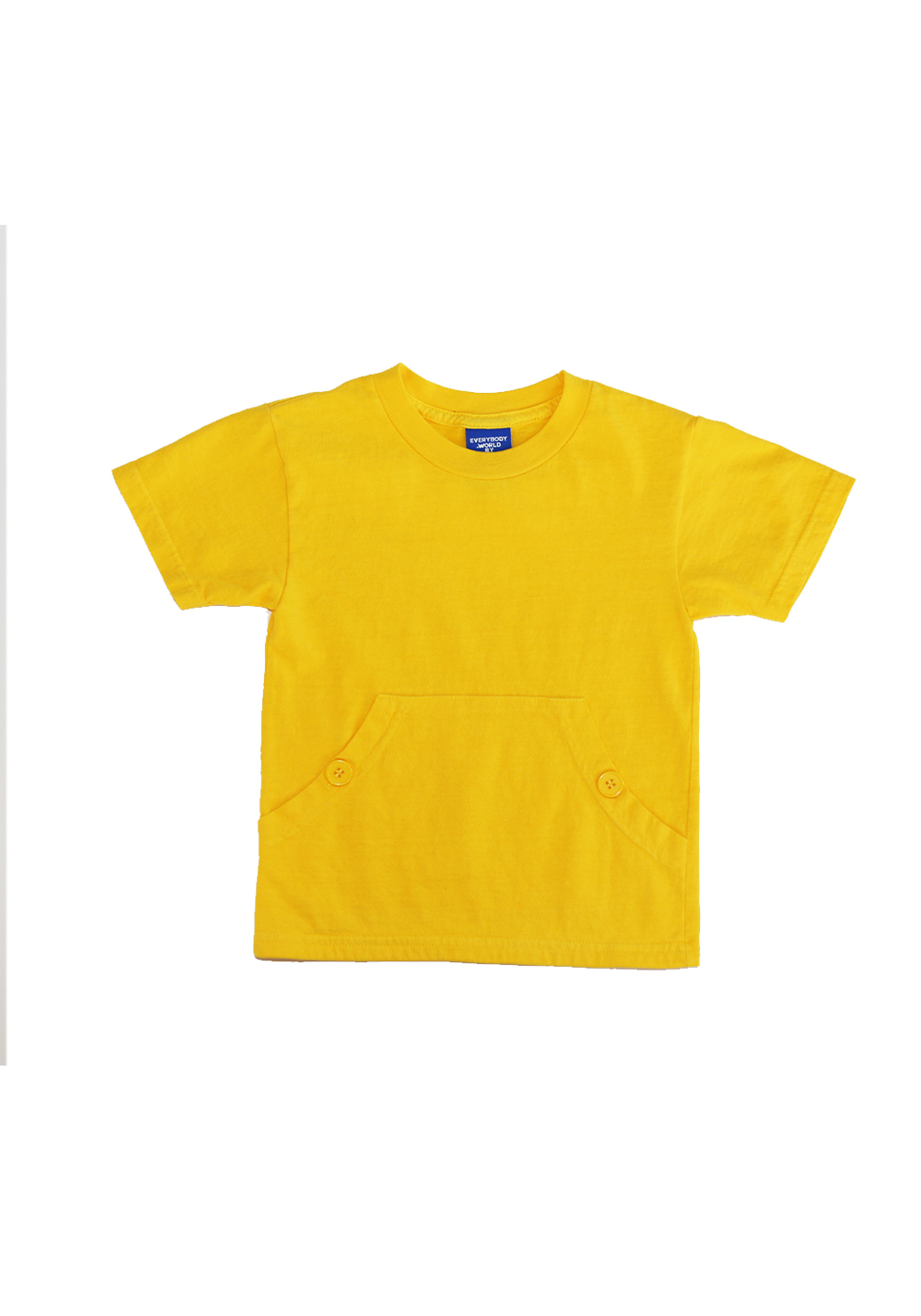 Akira Pocket Tee Beat It Yellow
