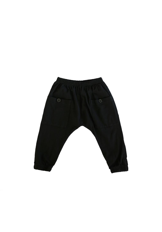 Akira Pocket Pant Black