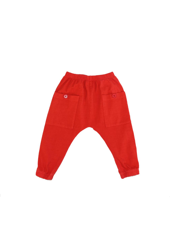 Akira Pocket Pant Red