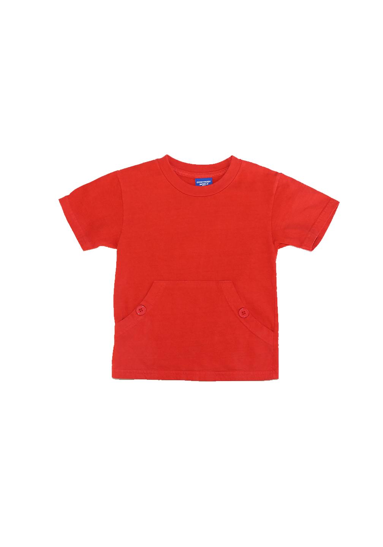 Akira Pocket Tee Red