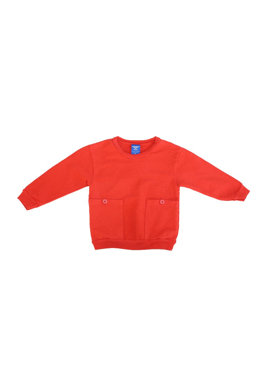Akira Pocket Sweatshirt Red