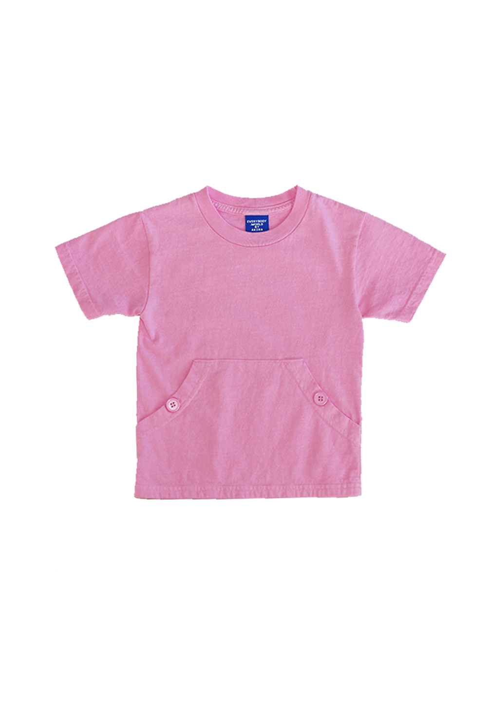 Akira Pocket Tee Pink