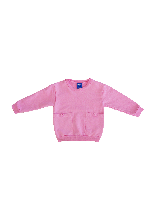 Akira Pocket Sweatshirt Pink