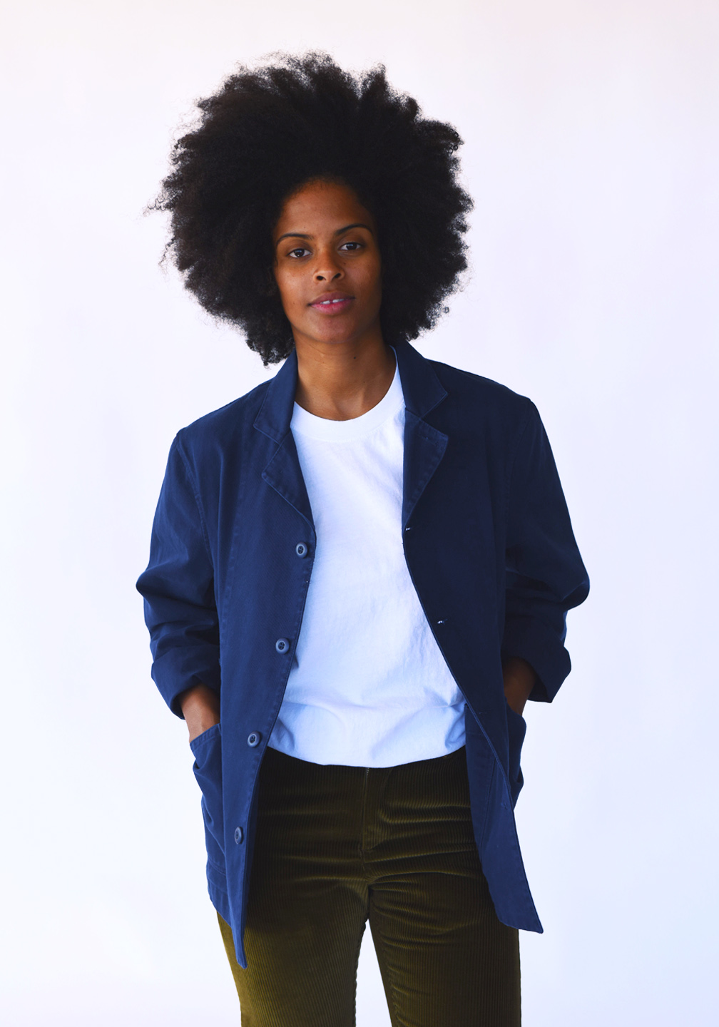 Margot_and_Ed_Top_Down_Jacket_Worker_Blue_Rotating