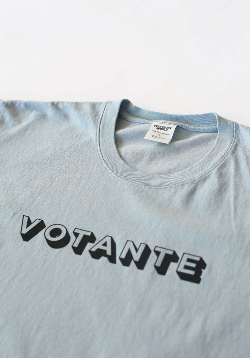 Votare-TEE-Front-Detail