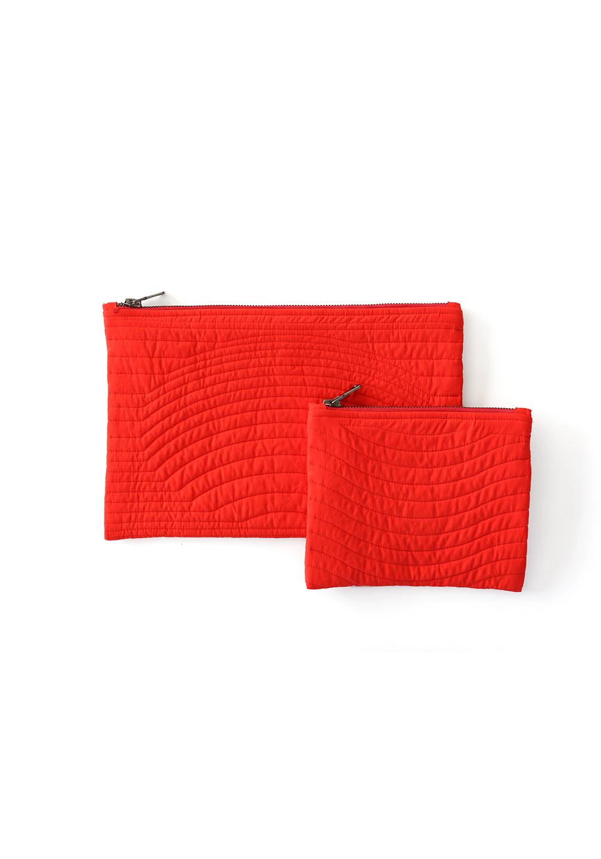 Ace Zipper Pouch Red
