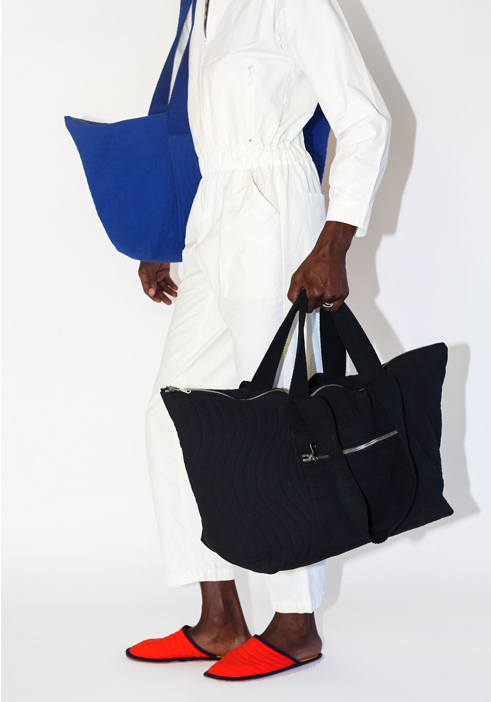 Ace Duffle Blue Black