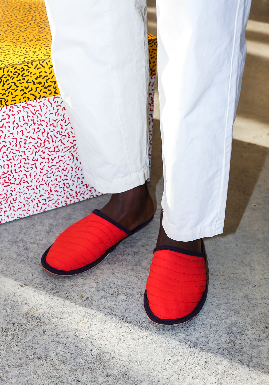 Ace Slipper Red