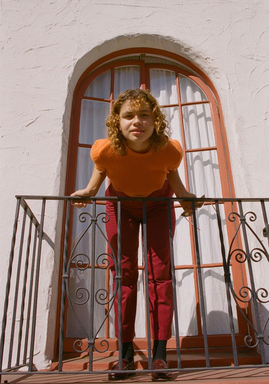 Paloma Perfect Pants Blood Orange Rotating