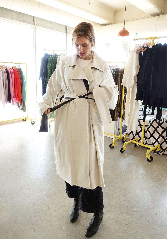 Meredith Koop Coat Rotating
